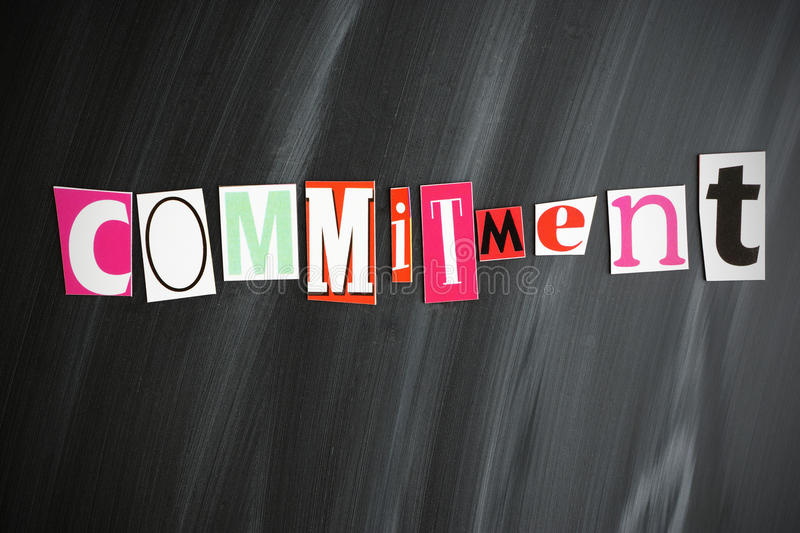 Download COMMITMENT Royalty Free Stock Images - Image: 32428109