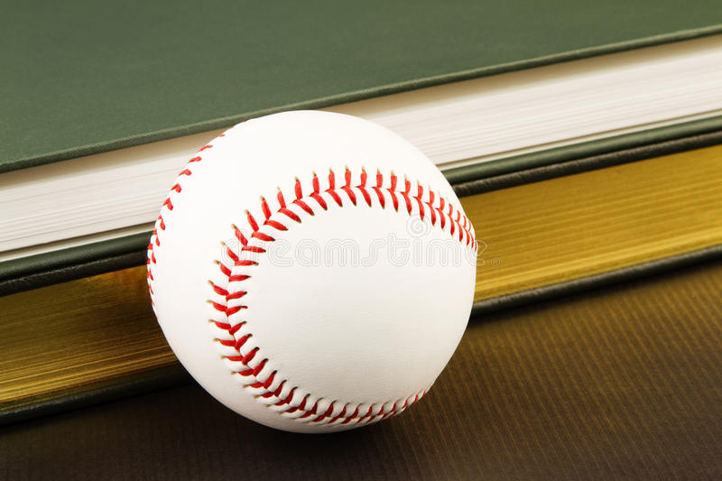 Commitment To Sports And Books Stock Images