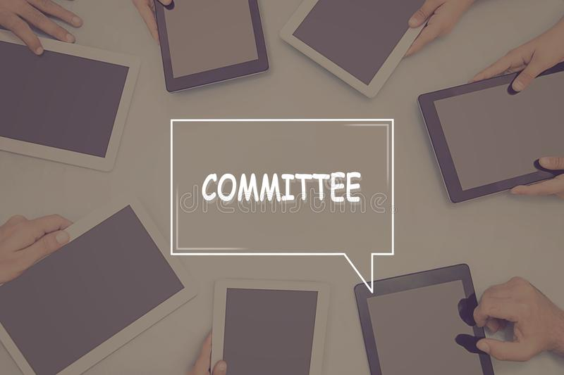 COMMITTEE CONCEPT Business Concept.  royalty free stock photography