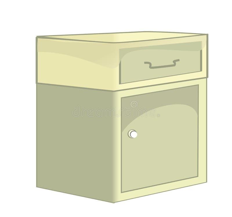commode illustration de vecteur