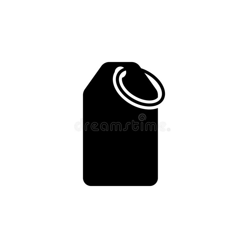Commodity tag icon. Element of web icon for mobile concept and web apps. Isolated commodity tag icon can be used for web and mobil. E. Premium icon on white royalty free illustration