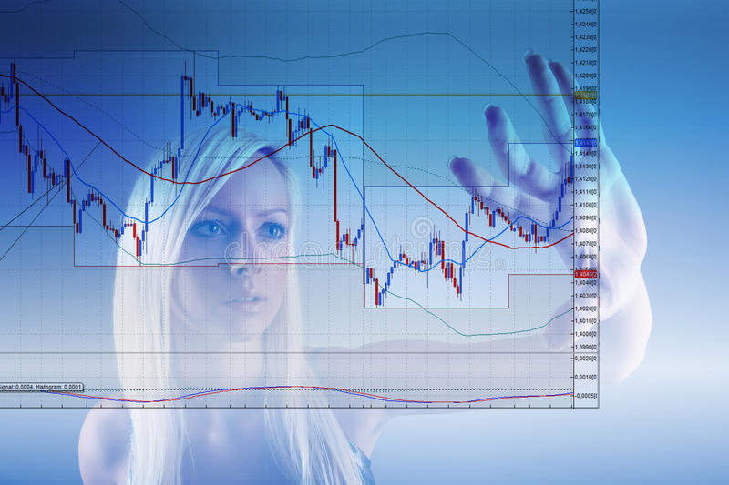 Commodity trading royalty free stock image
