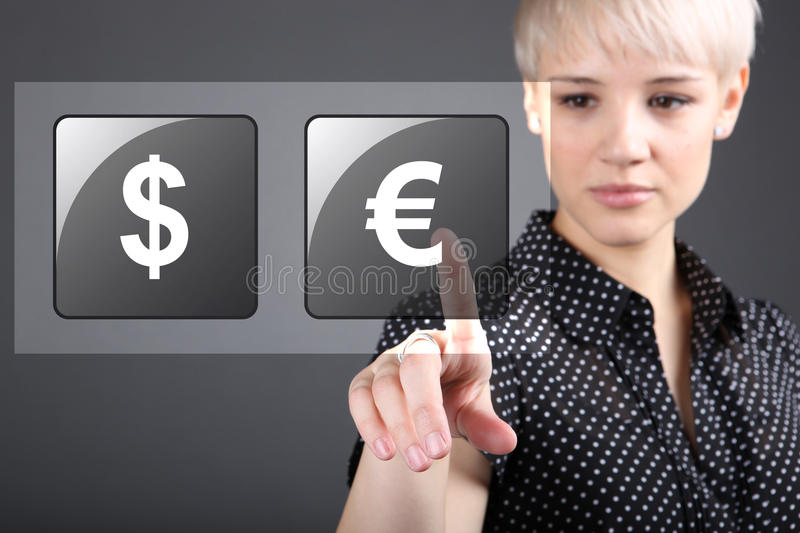 Download Commodity Trading - Currency Trading Dollar Euro Stock Image - Image: 28883981