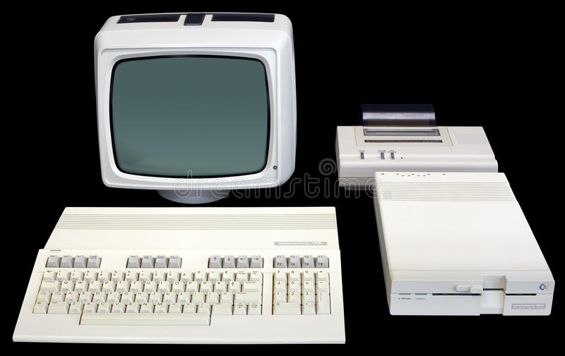 Commodore 128 royalty free stock image