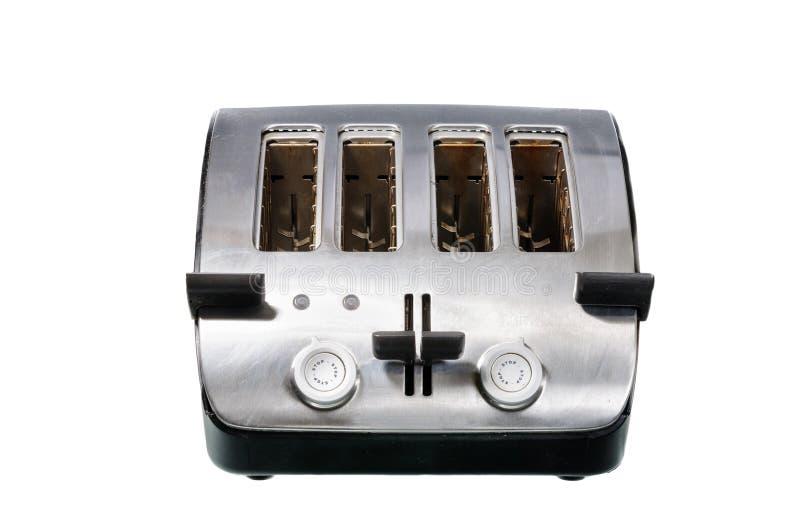 Common chrome toaster stock photo
