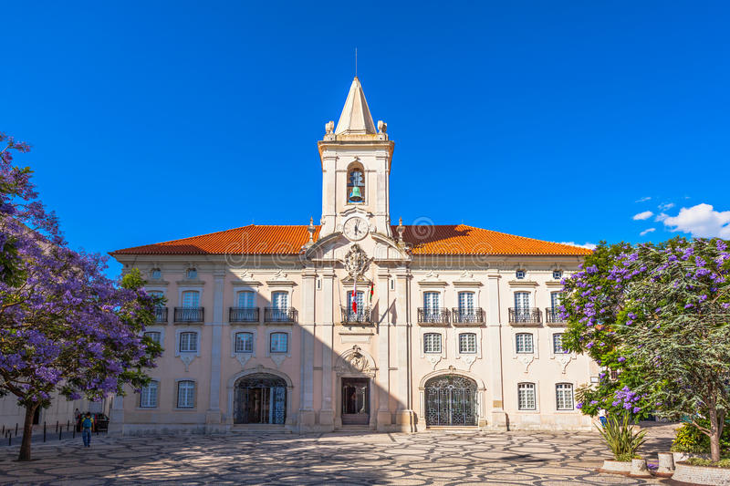 Common Hall, Aveiro. Common Hall (Camara Municipal de Aveiro) in Aveiro, north Portugal royalty free stock image