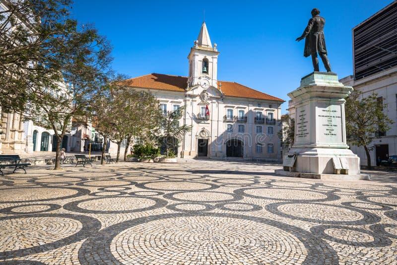Common Hall (Camara Municipal de Aveiro) in Aveiro, north Portugal royalty free stock image