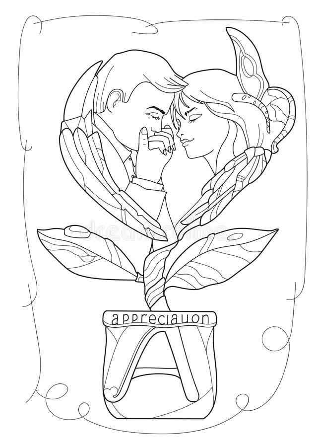 500+ Amazing Valentines Day colouring Pages To Print-Valentines ... | 900x637