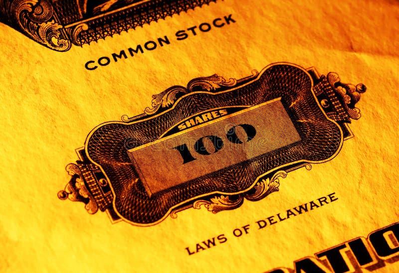 Common Stock stock image