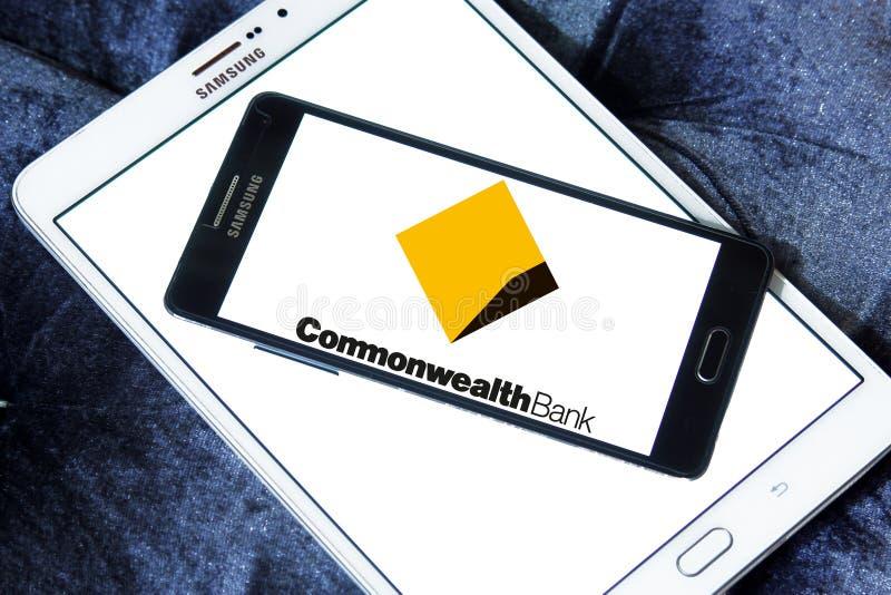 Commonwealth Bank logo obrazy royalty free