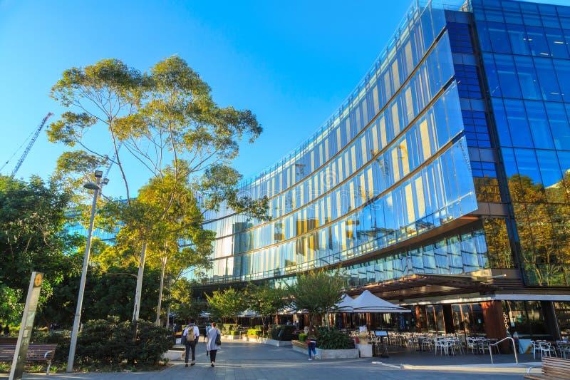Commonwealth Bank Umieszcza w Kochanej ćwiartce, Sydney, Australia fotografia royalty free