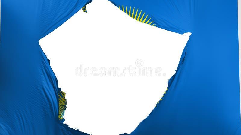 Commonwealth criqué de drapeau de nations illustration stock