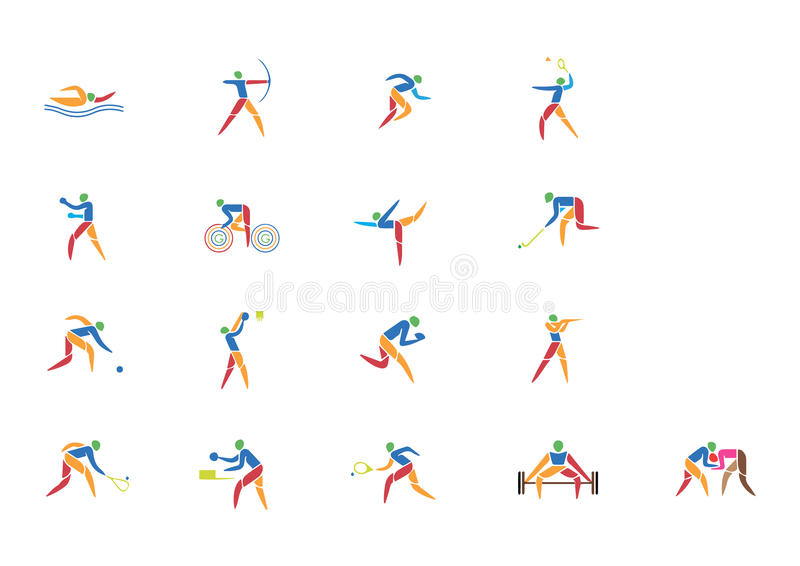 COMMONWEALTH GAMES ICON royalty free stock images