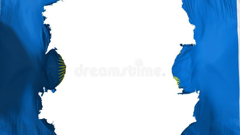 Commonwealth soufflé de drapeau de nations illustration stock