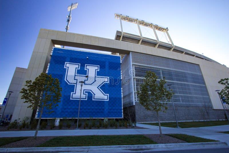 Commonwealth Stadium uniwersytet Kentucky fotografia stock