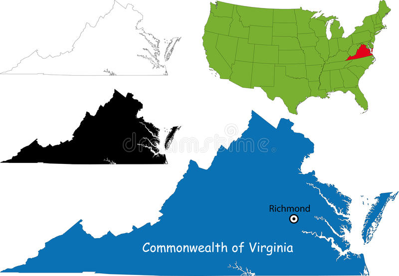 Download Commonwealth Of Virginia, USA Royalty Free Stock Images - Image: 13314419