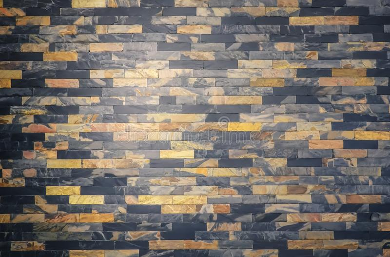 Commun linéaire de parquet de mur de fond en bois sans couture de texture, blocs en bois de décoration, lambrissant le modèle, fo photographie stock libre de droits