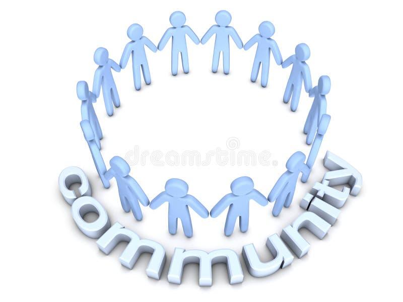 Communauté illustration stock