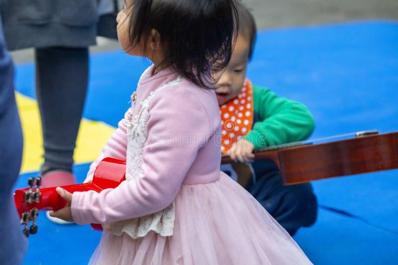 Communautair Activiteitencentrum, Limin-Recreatie, de Nieuwe Taipeh Stad van Taiwan, het Levensfestival royalty-vrije stock foto
