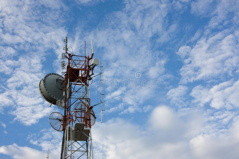 Download Communicate stock photo. Image of dish, cloud, telephone - 19244502
