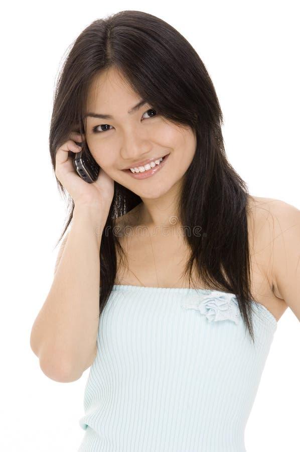 Download Communicate 2 stock photo. Image of ethnic, female, technology - 411686
