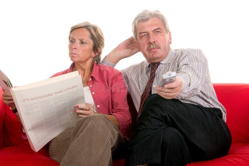 Communicatie analyse stock foto