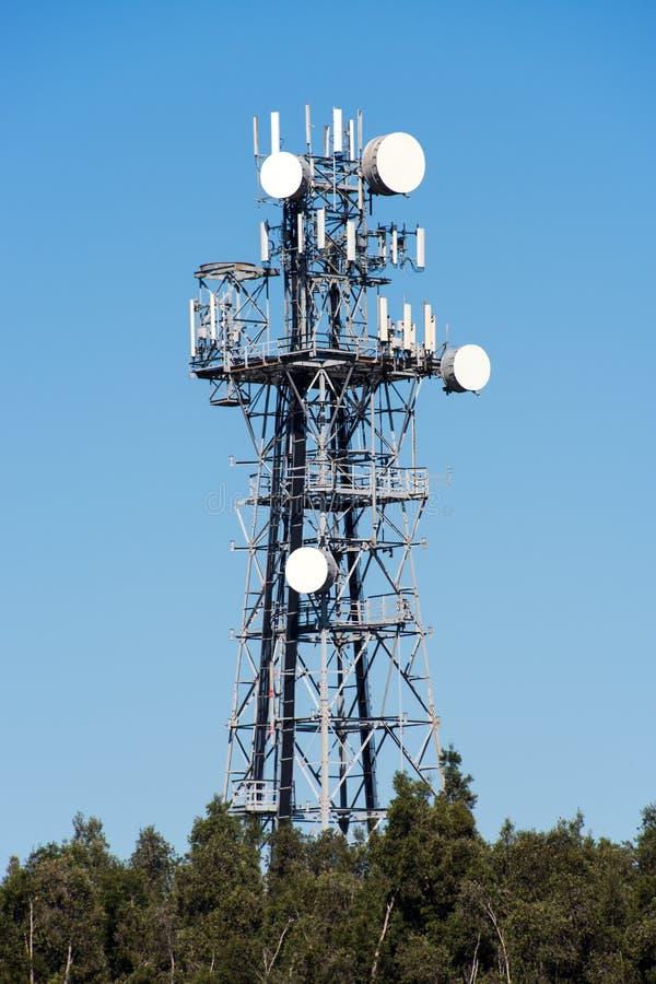 Communicatie antenne stock foto's
