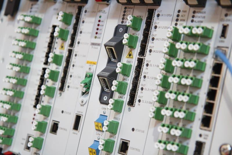 Communicatie apparatuur stock afbeeldingen