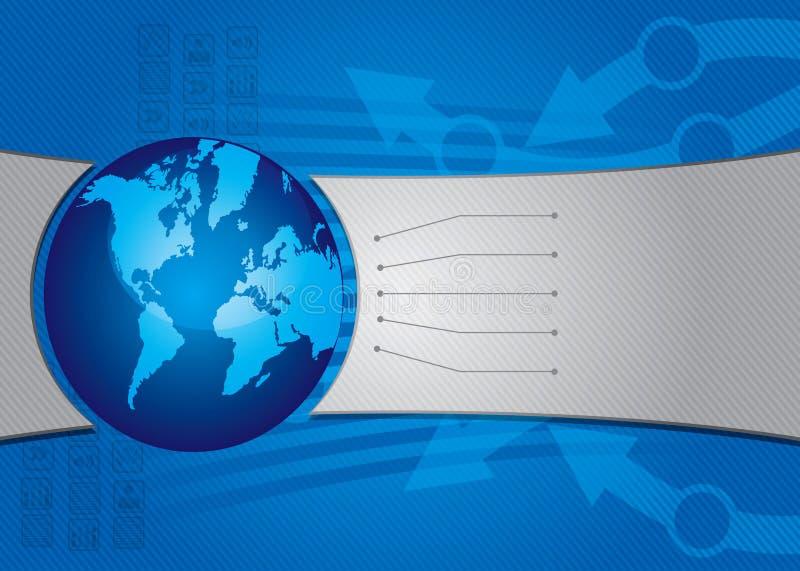 Communicatie concept stock illustratie