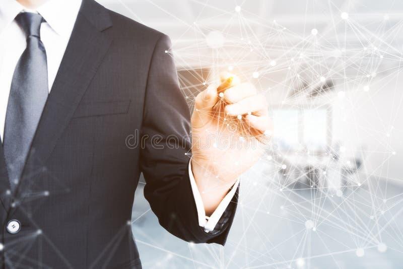 Communicatie concept royalty-vrije stock afbeelding