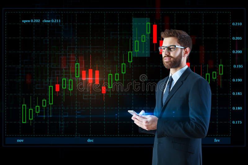Communicatie en technologieconcept royalty-vrije stock afbeelding