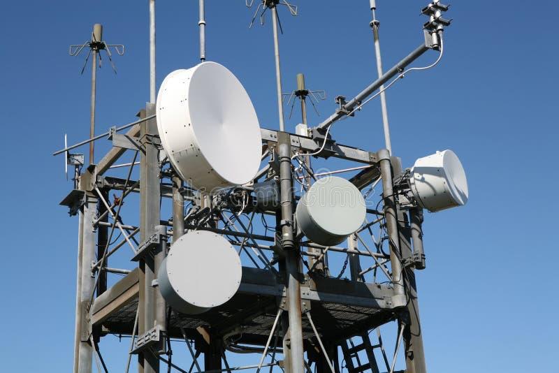 Communicatie Mast stock afbeeldingen