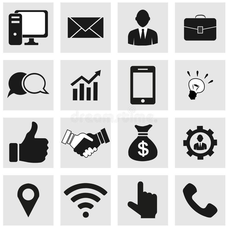 Communicatie pictogrammen royalty-vrije stock foto's
