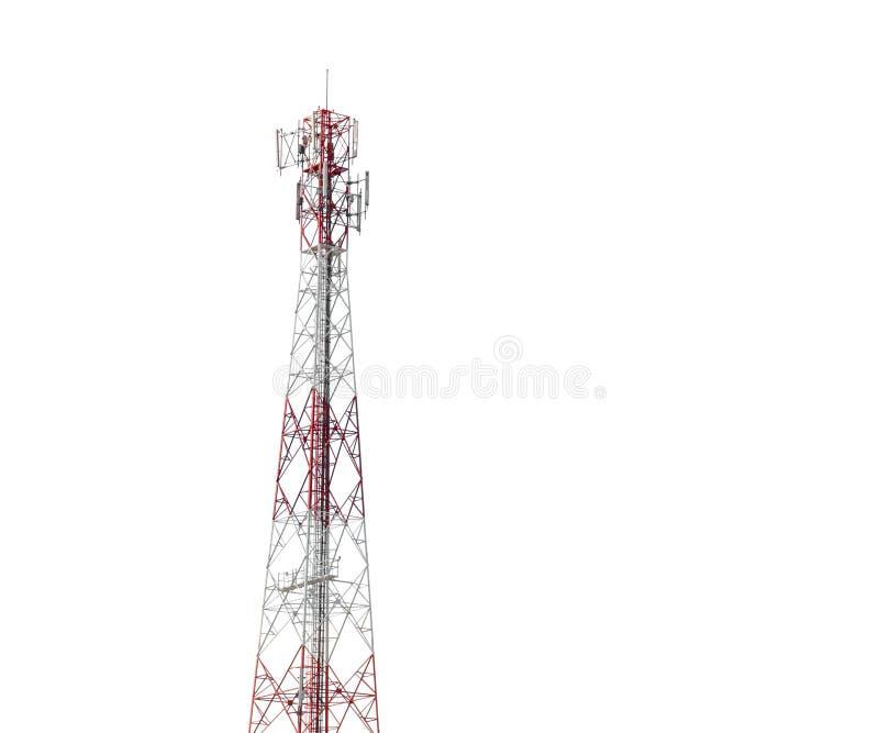 Communicatie radiodietoren op wit wordt geïsoleerd royalty-vrije stock foto's