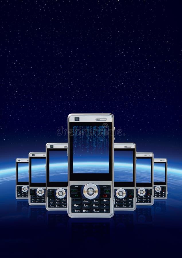 Communicatie technologie stock illustratie