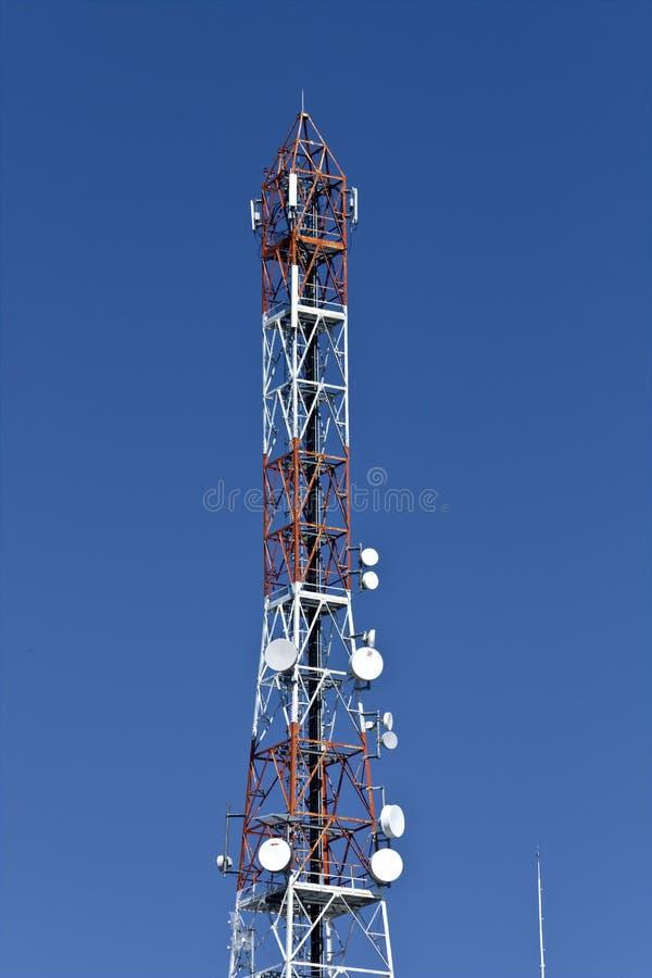 Communicatie toren royalty-vrije stock foto