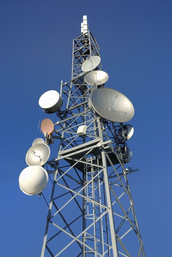 Communicatie toren 7 royalty-vrije stock fotografie