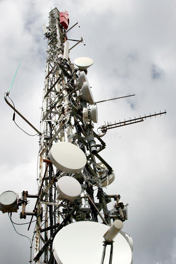 Communicatie toren in Spanje royalty-vrije stock foto's