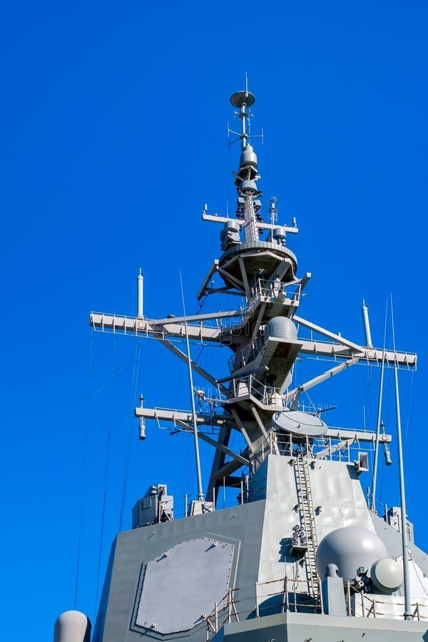 Communicatiesysteem van het schip royalty-vrije stock fotografie
