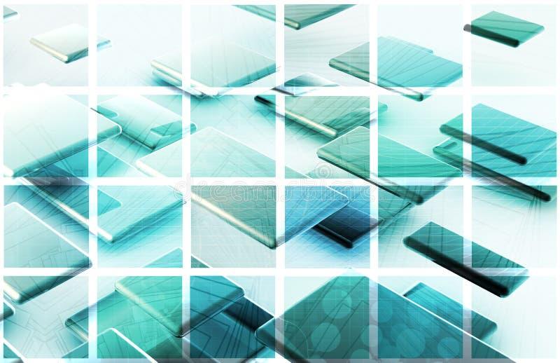 Communicatietechnologie royalty-vrije illustratie