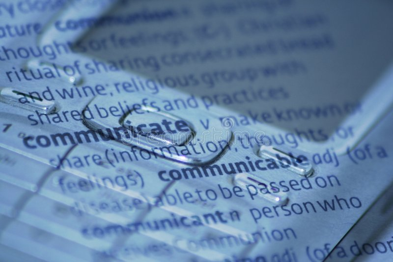 Communication stock photography
