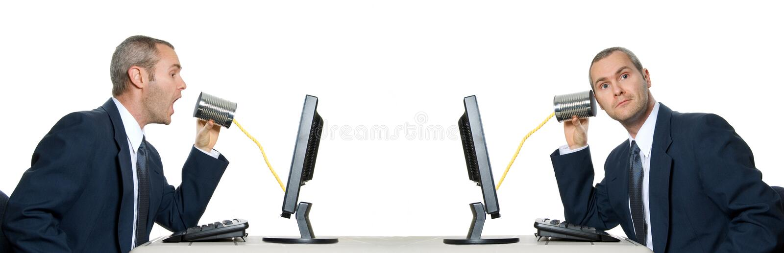 Download Communication stock image. Image of hear, double, monitor - 1523639