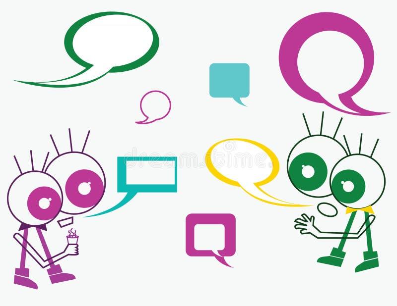 Download Communication stock illustration. Illustration of information - 23115806