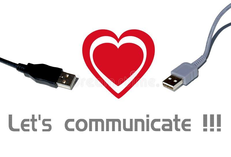 Communication royalty free illustration