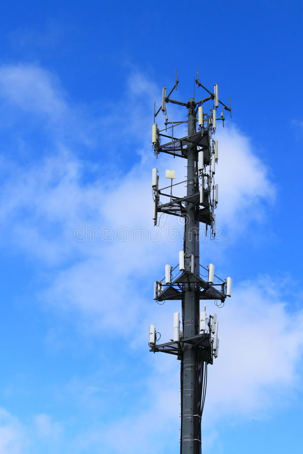 Communication Antenna Tower royalty free stock photography