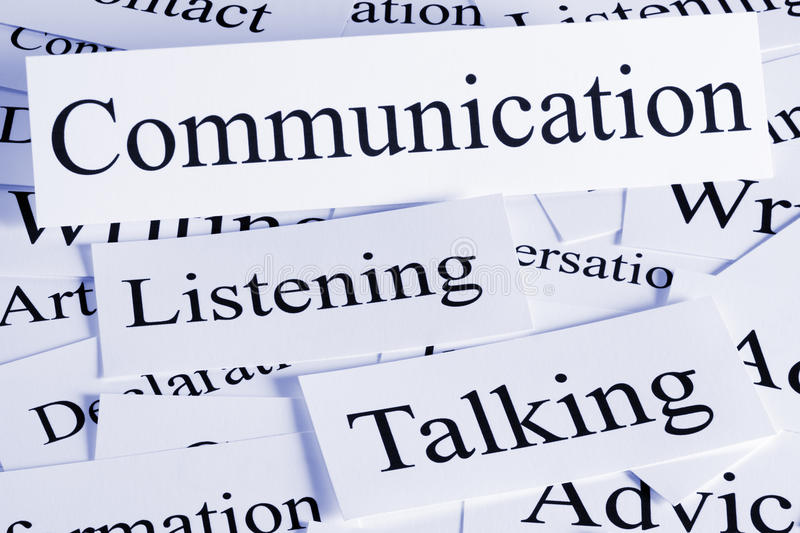 Communication Concept stock image