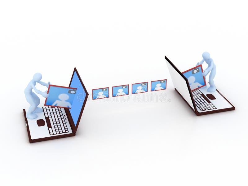 Download Communication concept stock illustration. Image of folder - 7350168