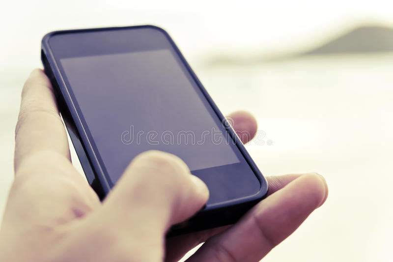 Communication concept. Close up image of people using smart phone,Communication concept stock images