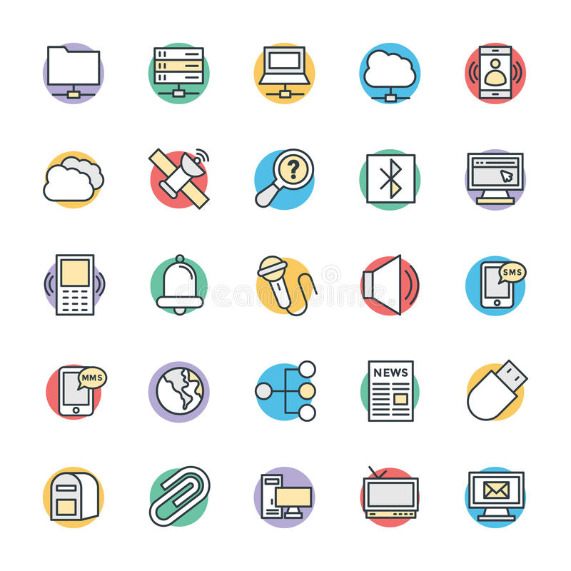 Communication Cool Vector Icons 5. This day in age, we are all about fast, quick communication, so we hope you will find these Communication Vector Icons to be vector illustration