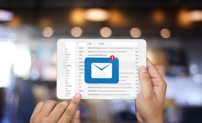 communication de courrier image libre de droits